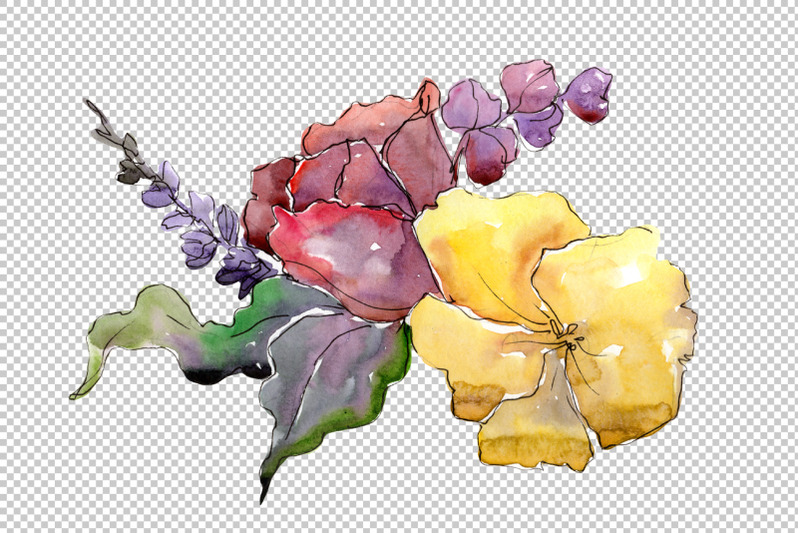 bouquet-of-flowers-rebecca-watercolor-png