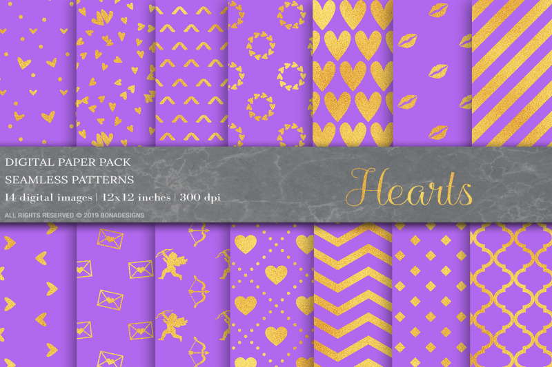 gold-valentines-day-digital-papers