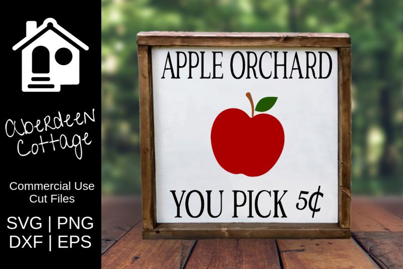apple-orchard-sign-svg