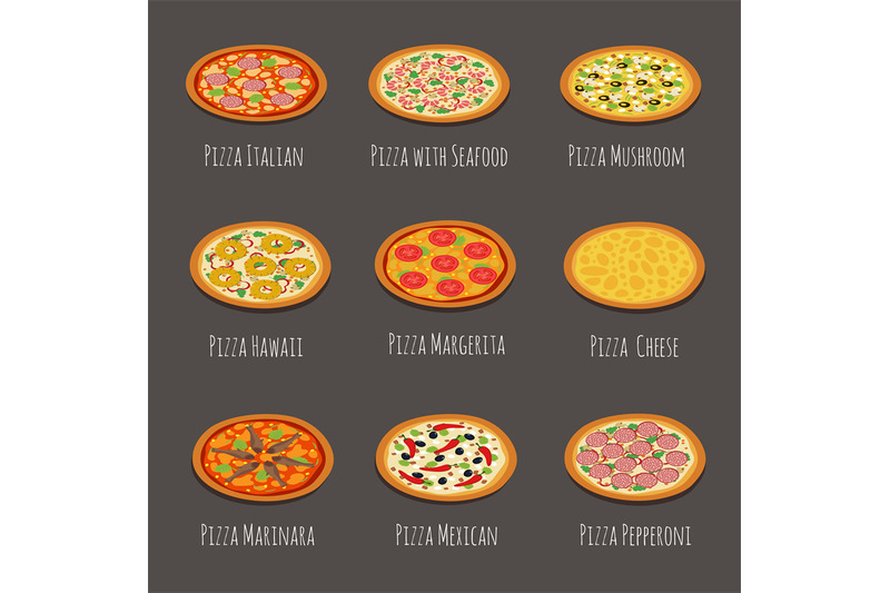 delicious-pizza-icons-pepperoni-margherita-and-other-italian-pizzas