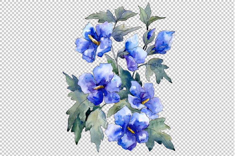 bouquet-of-flowers-blue-nona-watercolor-png