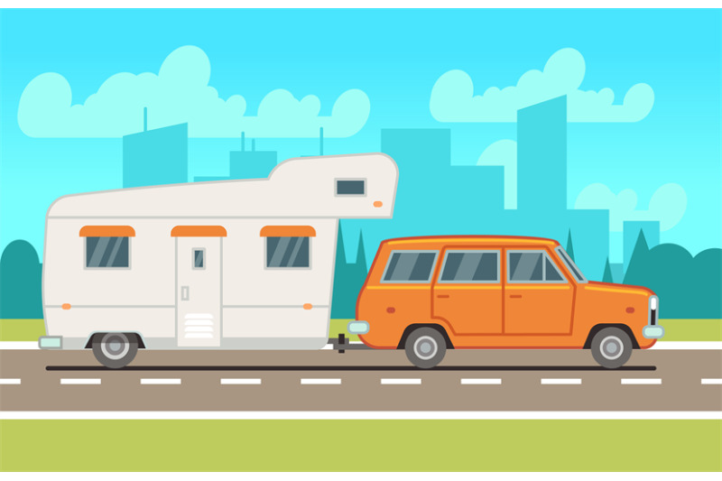 family-rv-camping-trailer-on-road-country-traveling-and-outdoor-vacat