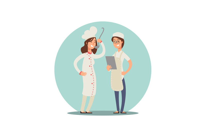 two-smiling-chefs-tasting-food-professional-cooks-cartoon-character-d