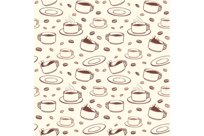 hand-drawn-coffee-cups-vector-seamless-pattern