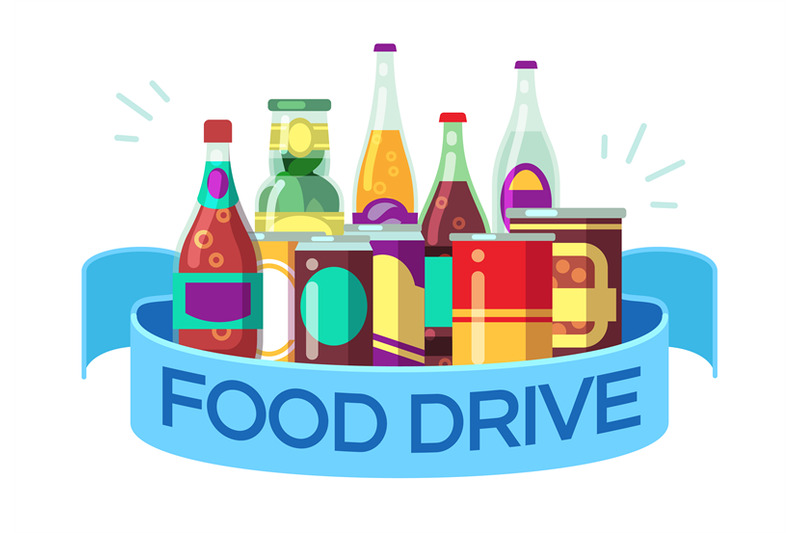 christmas-food-drive-canned-soup-and-drinks-gift-homeless-vector-con