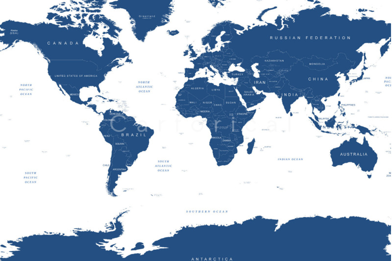 world-map-with-countries-and-globe