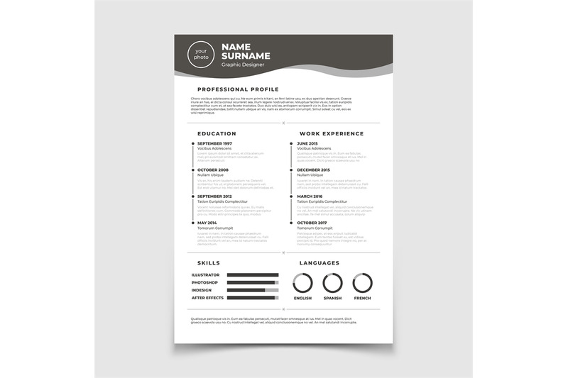 cv-resume-document-for-employment-interview-vector-business-design-t