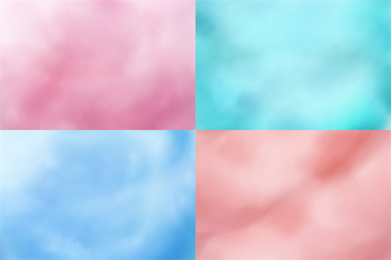 cotton-candy-backgrounds-realistic-candyfloss-sweet-dessert-vector-te