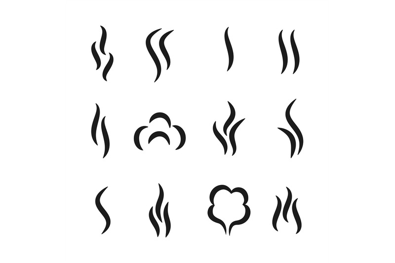 steam-aroma-icons-coffee-and-tea-smell-black-symbols-set-of-aroma-sc
