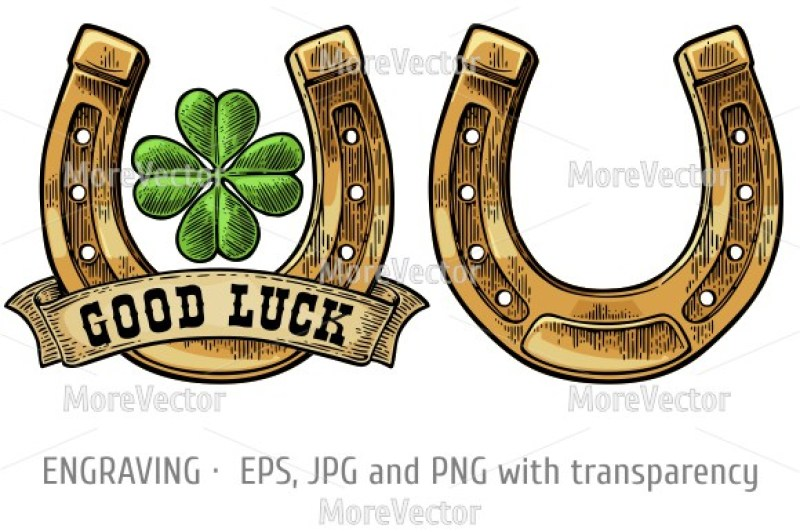 four-leaf-clover-horseshoe-ribbon-with-text-good-luck