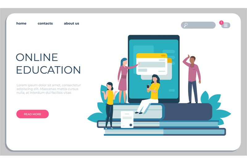 accessible-education-website-online-learning-for-disabled-people-conc