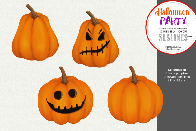 halloween-party-ghosts-pumpkins-spooky-clipart