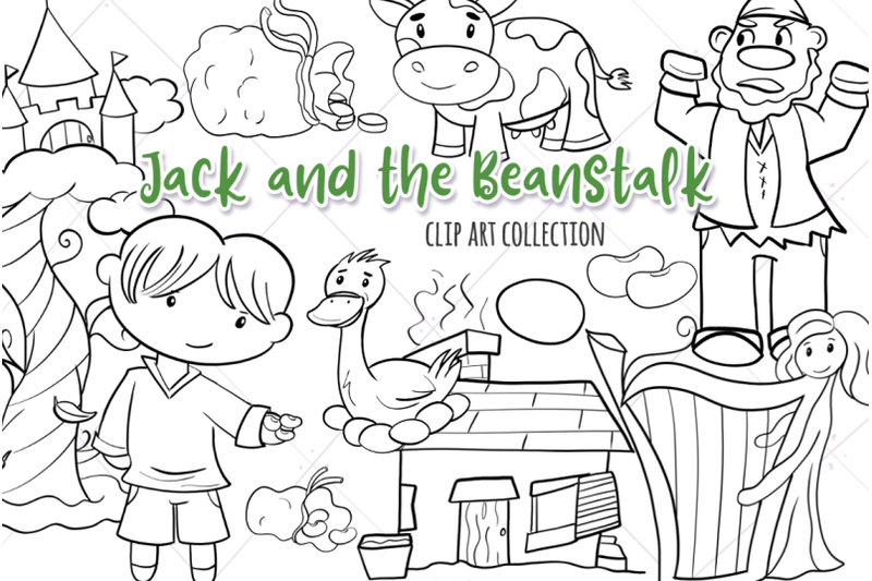 jack-and-the-beanstalk-digital-stamps