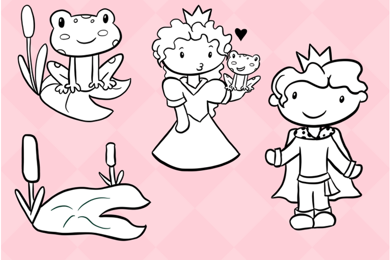 princess-and-the-frog-digital-stamps