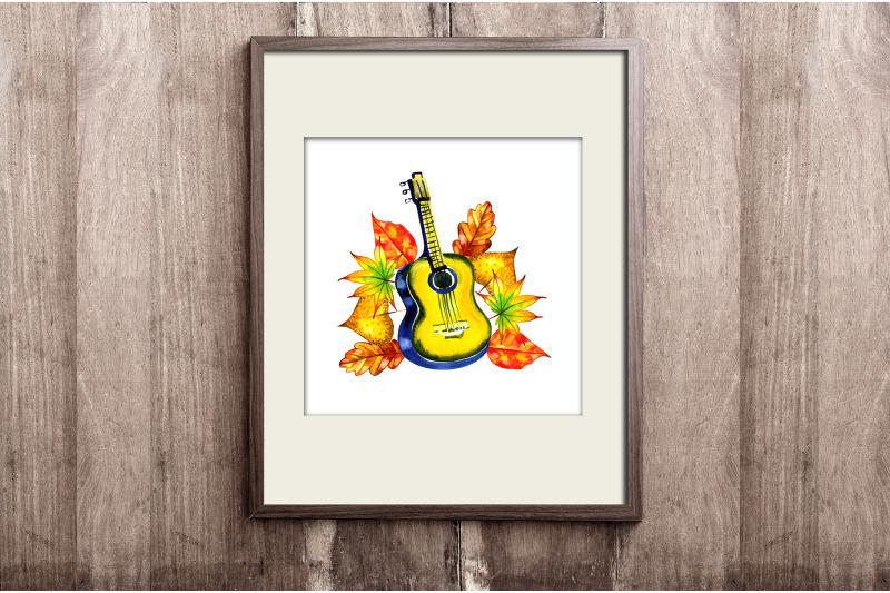 watercolor-autumn-song