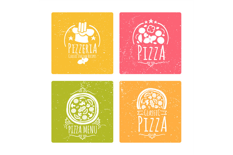 set-of-cafe-pizzeria-labels-or-badges-banners-with-vector-pizza