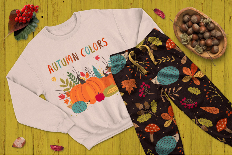 autumn-colors-set