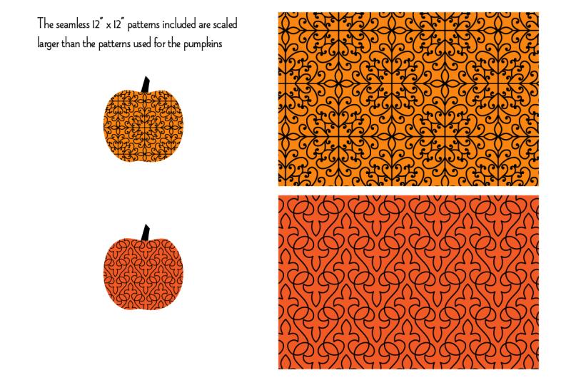 halloween-pumpkins-amp-seamless-patterns