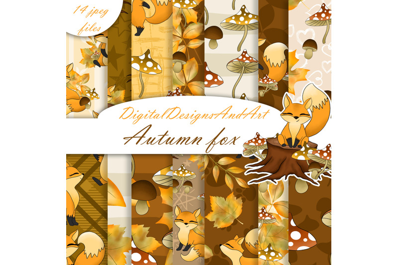 autumn-fox-pattern