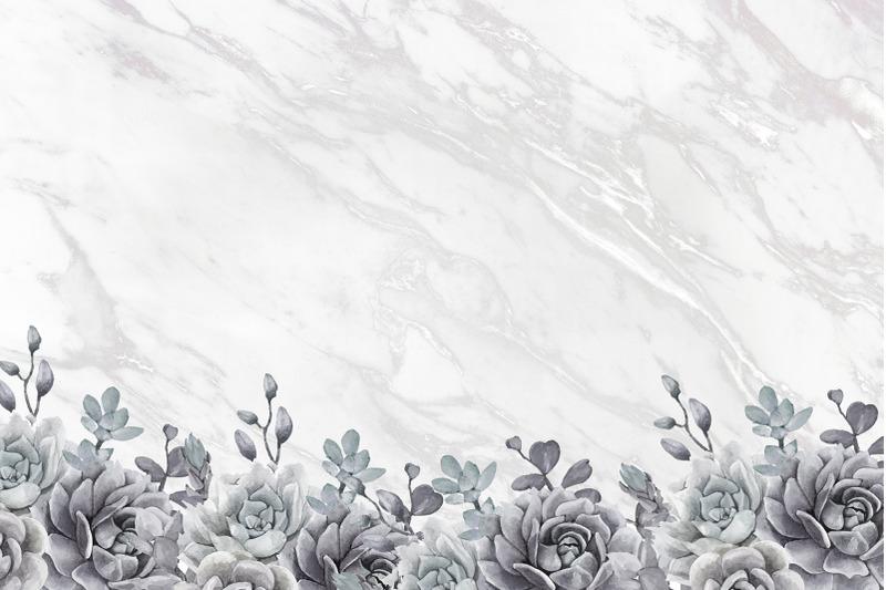 christmas-marble-rose-digital-paper