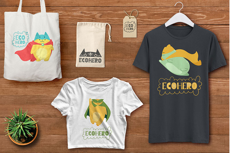 zero-waste-ecology-doodle-set