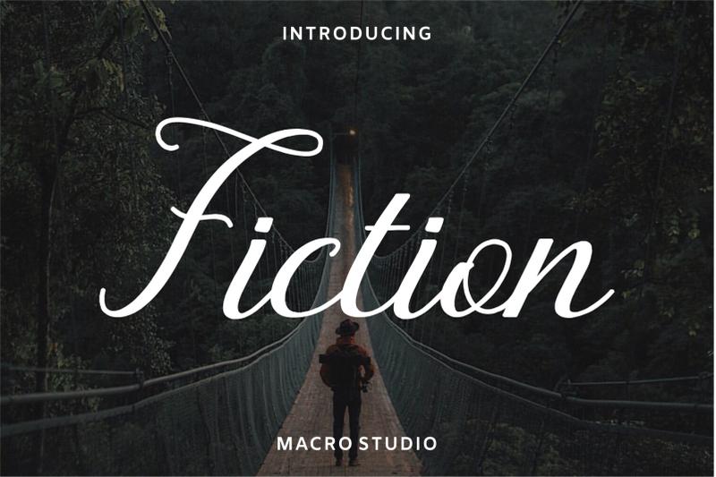 fiction-font