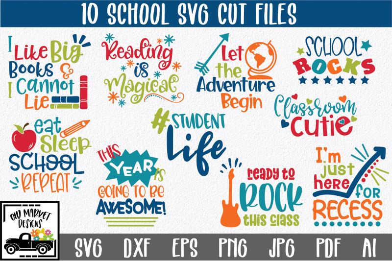 school-svg-cut-file-bundle