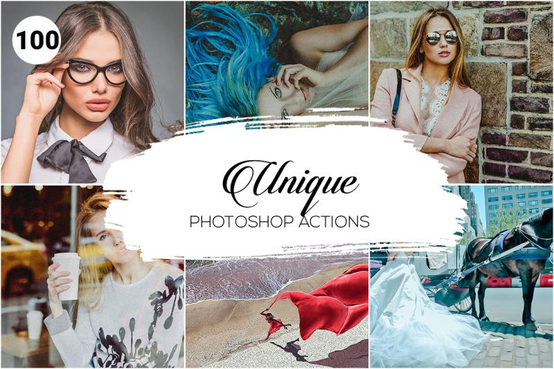 100-unique-photoshop-actions