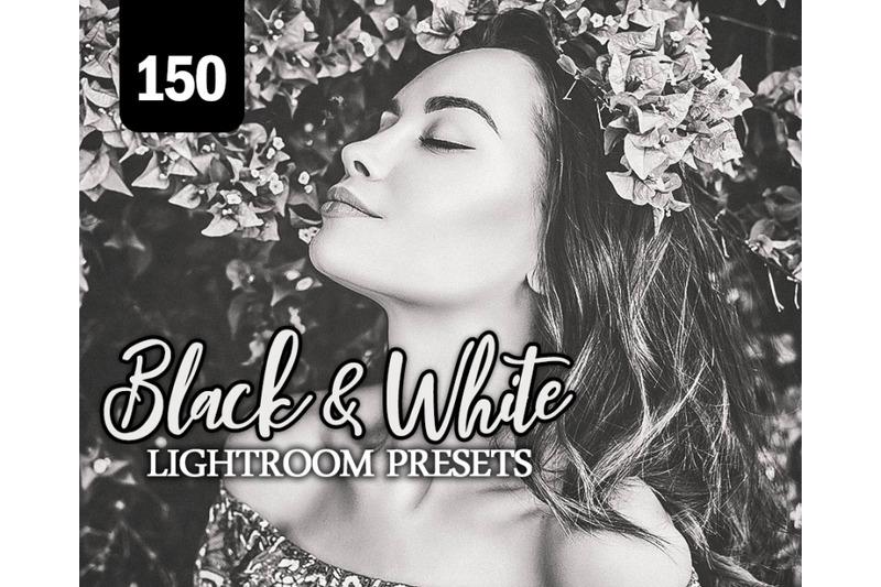 150-black-white-lightroom-presets-for-photographer-designer-photogra