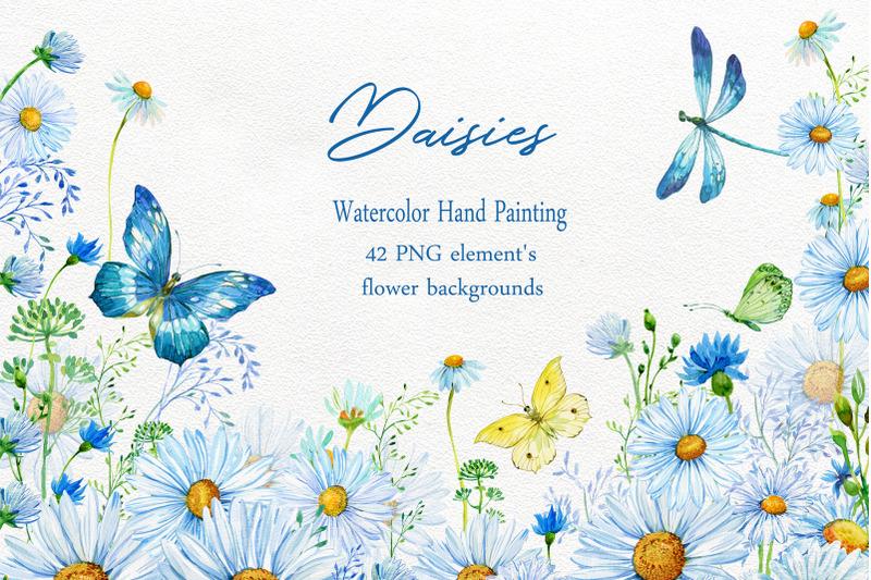 daisy-clipart-watercolor
