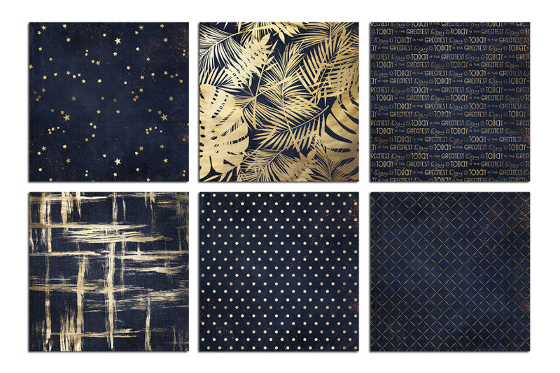 christmas-gold-amp-navy-blue-textures