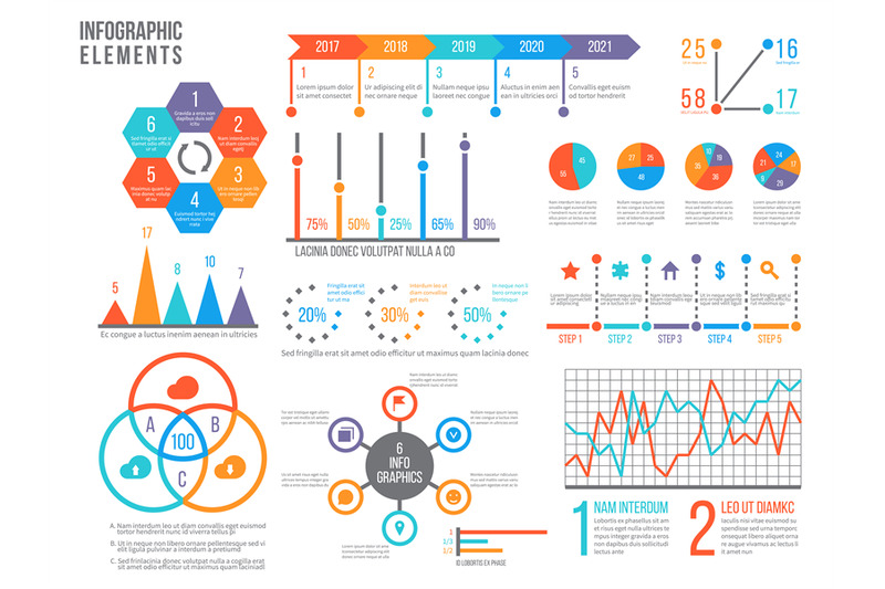 infographics-elements-statistics-chart-option-flowchart-and-timeline