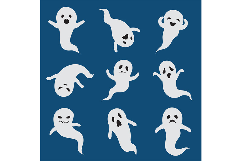 scary-ghosts-cute-halloween-ghost-white-silhouette-vector-boohoo-gho
