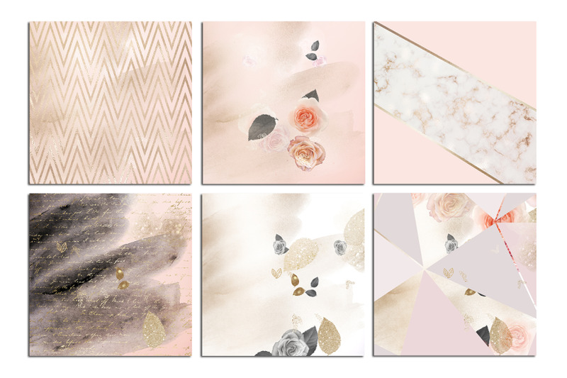 valentine-039-s-day-rose-gold-marble-watercolor-textures