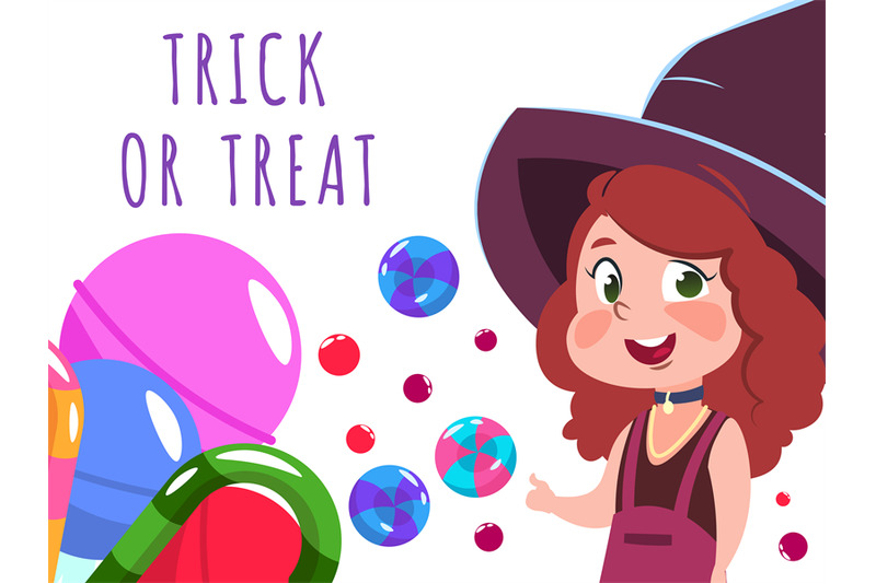 halloween-banner-with-cartoon-character-witch-and-sweets