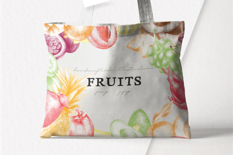 hand-drawn-fruit-collection