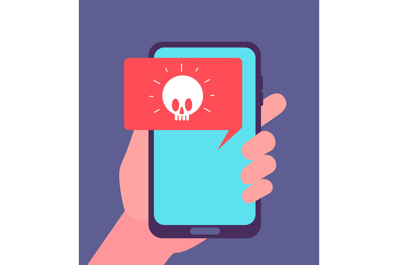 virus-alert-malware-notification-on-smartphone-screen-hacker-attack
