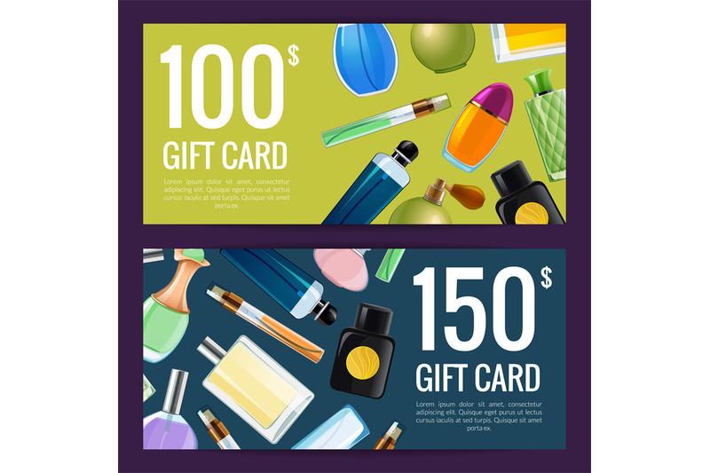 vector-perfume-bottles-discount-or-gift-illustration