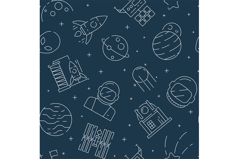 space-seamless-pattern-futuristic-universe-background-with-astronaut