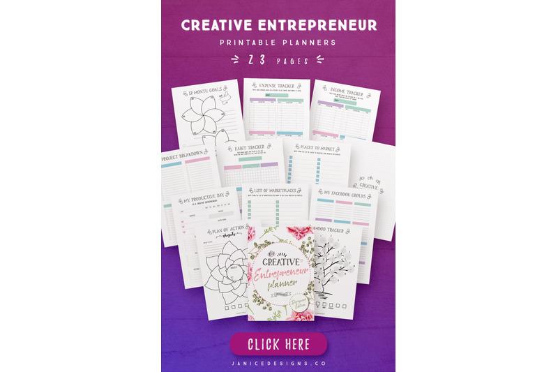 creative-entrepreneur-planner-23-pages