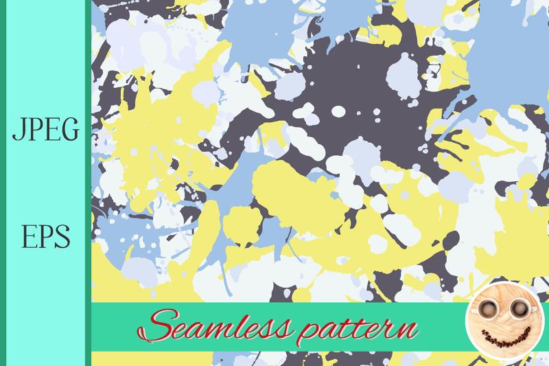 yellow-blue-camo-pattern