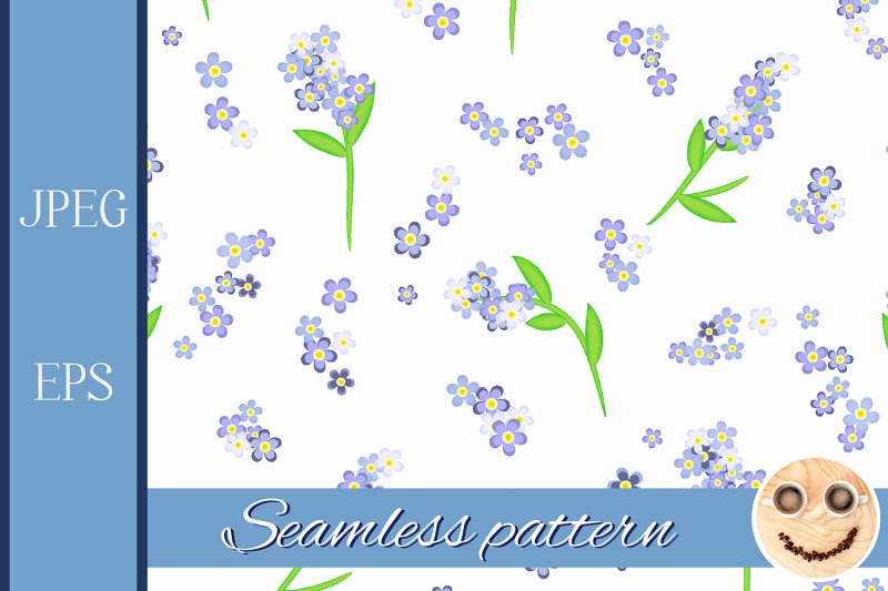 forget-me-not-flowers-on-the-white-seamless-pattern
