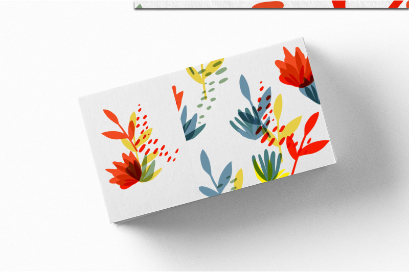 botanical-basics-pattern-set
