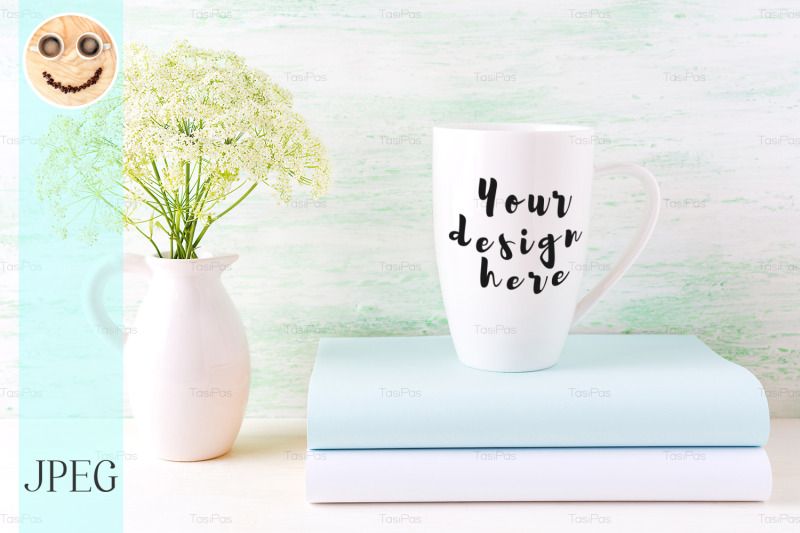 white-cappuccino-mug-mockup-with-wild-meadow-flowers-in-pitcher