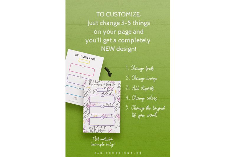 goal-setting-printables-indesign-template-for-commercial-use
