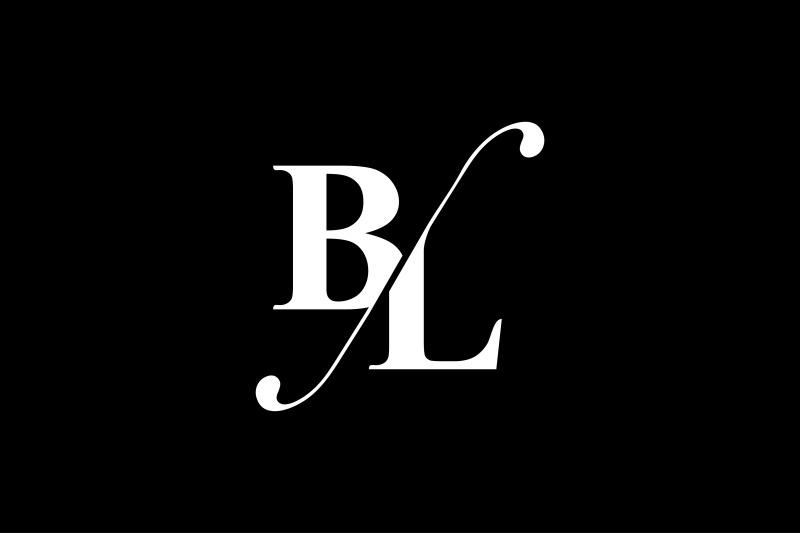 bl-monogram-logo-design
