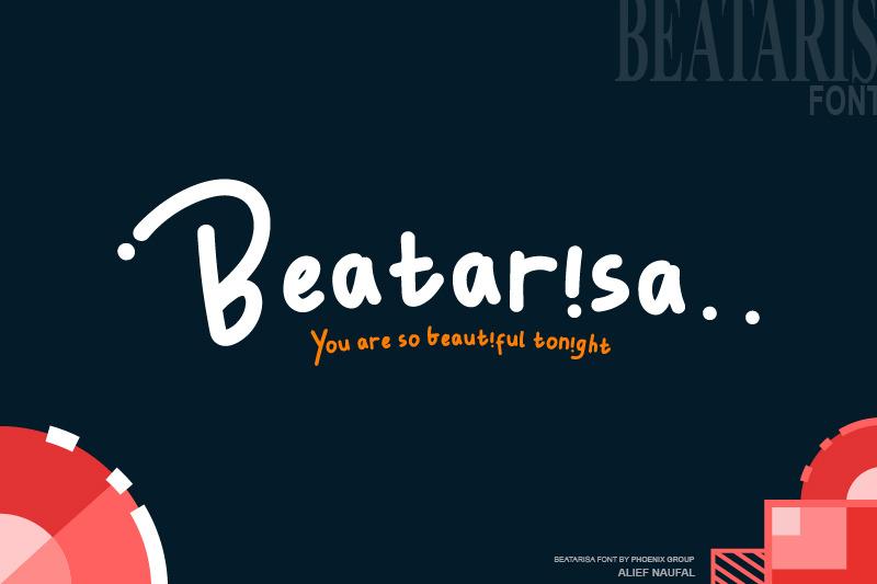 beatarisa-font