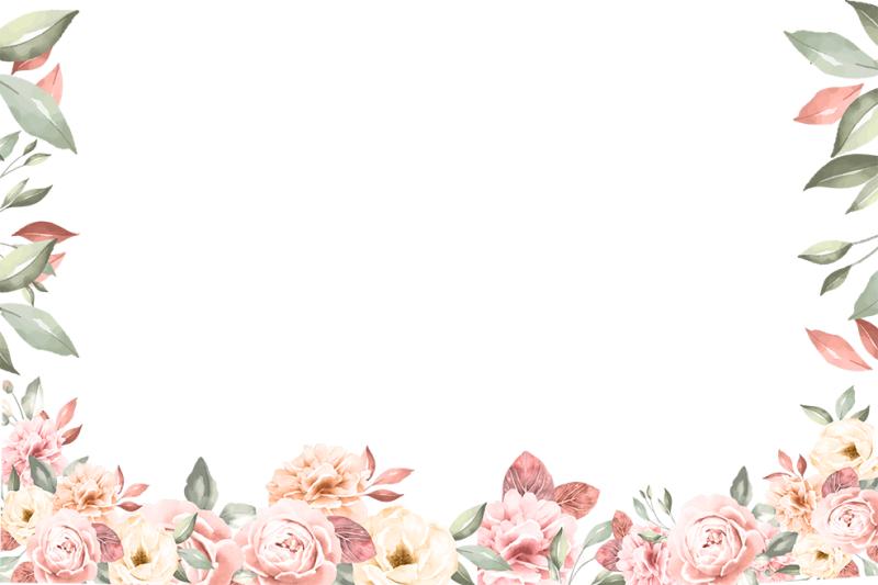 png-watercolor-rose-digital-paper