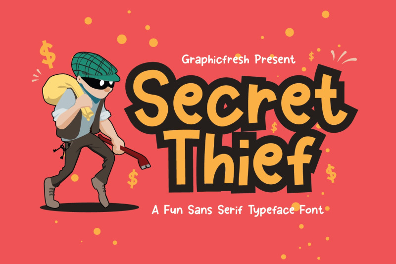 secret-thief-a-cute-sans-font