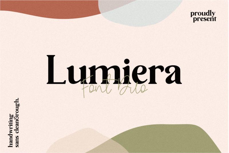 lumiera-duo-font